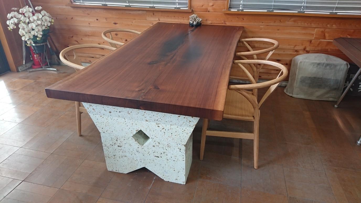 日光市 事務所テーブル